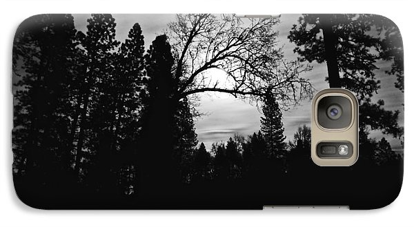 Galaxy Case featuring the photograph Night Shadows by Lennie Green
