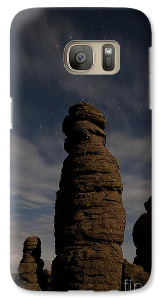 Galaxy Case featuring the photograph Night Sky Over Chiricahua by Keith Kapple