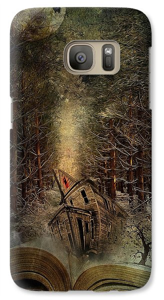 Night Story Galaxy Case by Svetlana Sewell
