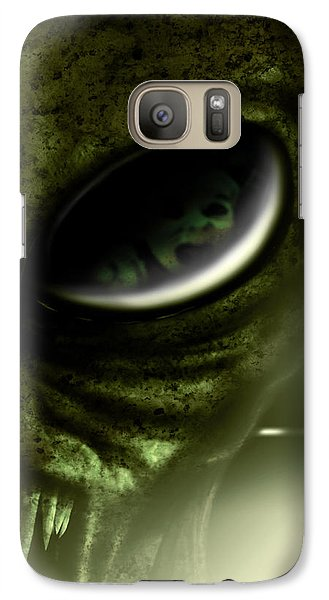 Galaxy Case featuring the digital art Night Terrors by Jeremy Martinson