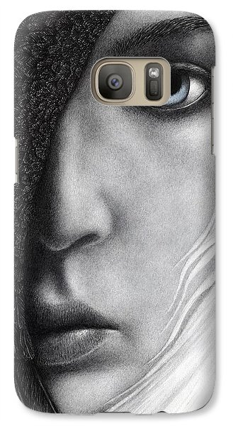 Galaxy Case featuring the painting Night Vision by Pat Erickson