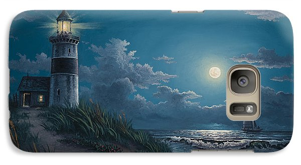 Galaxy Case featuring the painting Night Watch by Kyle Wood