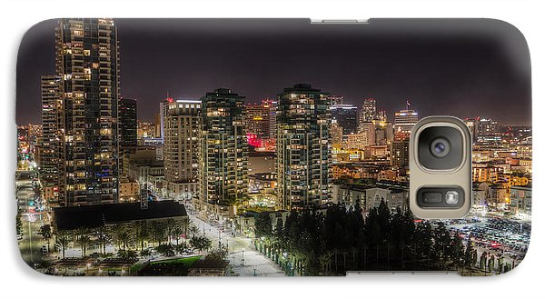 Galaxy Case featuring the photograph Nighttime by Heidi Smith