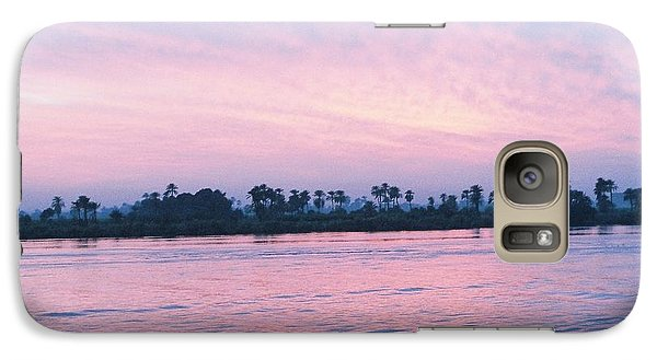 Galaxy Case featuring the photograph Nile Sunset by Cassandra Buckley