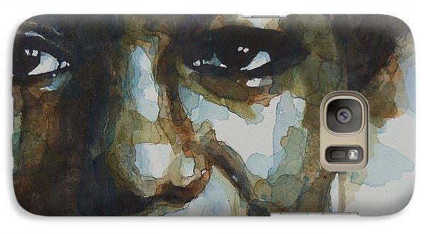 Musicians Galaxy S7 Case - Nina Simone Ain't Got No by Paul Lovering