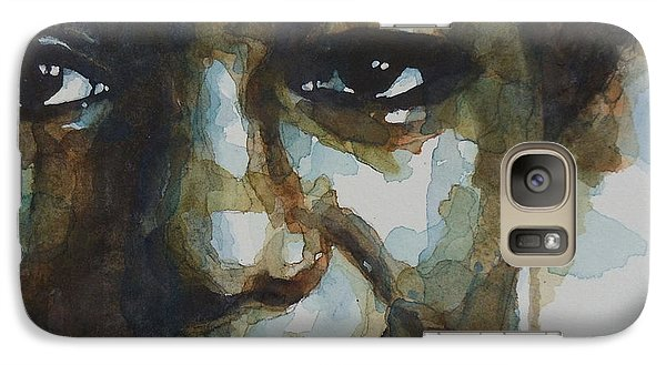 Nina Simone Galaxy S7 Case by Paul Lovering