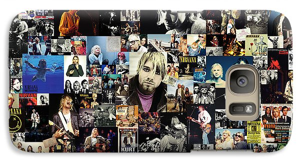 Nirvana Collage Galaxy S7 Case