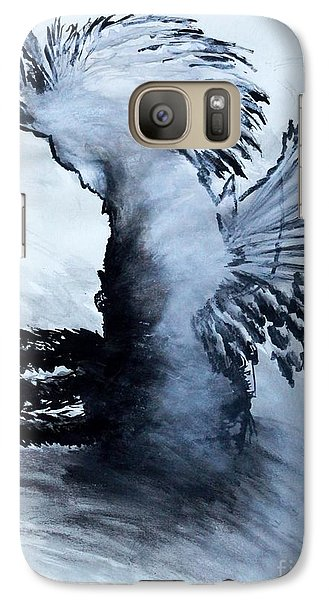 Galaxy Case featuring the painting Nnamid by Ayasha Loya