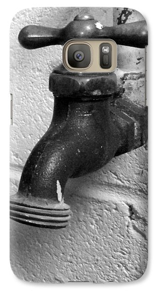 Galaxy Case featuring the photograph No Drips by Mary Beth Landis