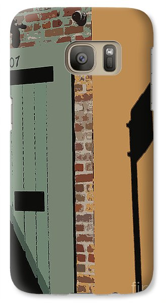 Galaxy Case featuring the photograph No Park Nola  by Ecinja Art Works