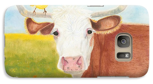 Galaxy Case featuring the painting No Tree Necessary by Arlene Crafton