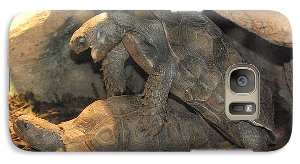 Galaxy Case featuring the photograph No Words Needed by Mark McReynolds