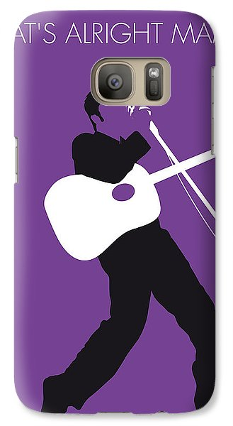 No021 My Elvis Minimal Music Poster Galaxy S7 Case