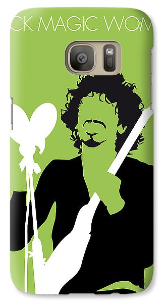 Magician Galaxy S7 Case - No046 My Santana Minimal Music Poster by Chungkong Art