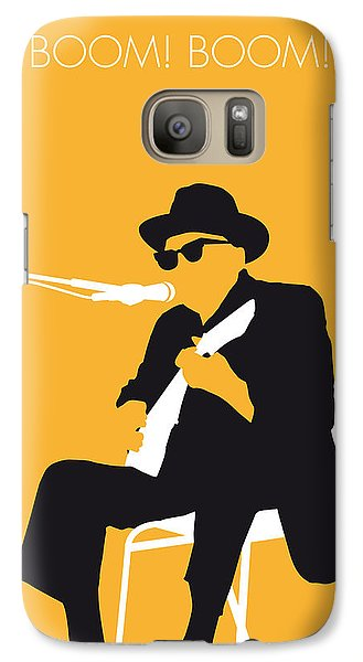 No054 My Johnny Lee Hooker Minimal Music Poster Galaxy S7 Case