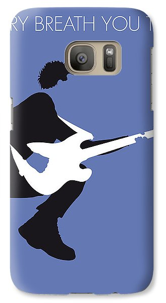 No058 My The Police Minimal Music Poster Galaxy S7 Case by Chungkong Art