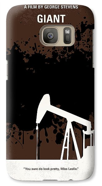No102 My Giant Minimal Movie Poster Galaxy S7 Case