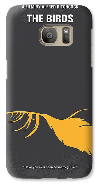 Seagull Galaxy S7 Case - No110 My Birds Movie Poster by Chungkong Art
