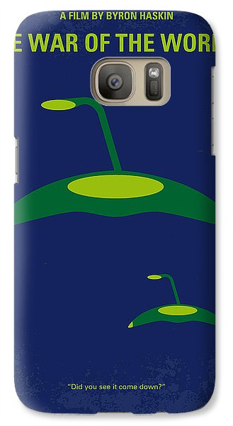 Aliens Galaxy S7 Case - No118 My War Of The Worlds Minimal Movie Poster by Chungkong Art