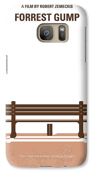 No193 My Forrest Gump Minimal Movie Poster Galaxy S7 Case