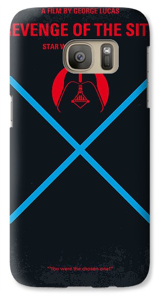 Falcon Galaxy S7 Case - No225 My Star Wars Episode IIi Revenge Of The Sith Minimal Movie Poster by Chungkong Art
