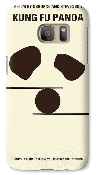 No227 My Kung Fu Panda Minimal Movie Poster Galaxy S7 Case