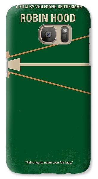 Robin Galaxy S7 Case - No237 My Robin Hood Minimal Movie Poster by Chungkong Art