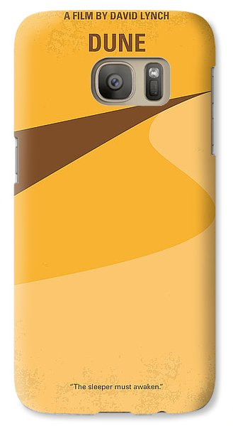 Desert Galaxy S7 Case - No251 My Dune Minimal Movie Poster by Chungkong Art