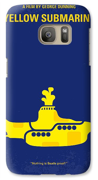 Musicians Galaxy S7 Case - No257 My Yellow Submarine Minimal Movie Poster by Chungkong Art