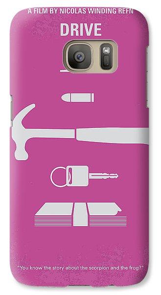Los Angeles Galaxy S7 Case - No258 My Drive Minimal Movie Poster by Chungkong Art