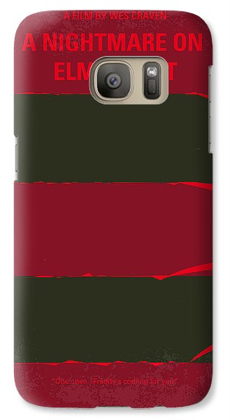No265 My Nightmare On Elmstreet Minimal Movie Poster Galaxy S7 Case by Chungkong Art