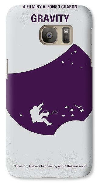No269 My Gravity Minimal Movie Poster Galaxy Case by Chungkong Art