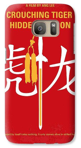 Tiger Galaxy S7 Case - No334 My Crouching Tiger Hidden Dragon Minimal Movie Poster by Chungkong Art