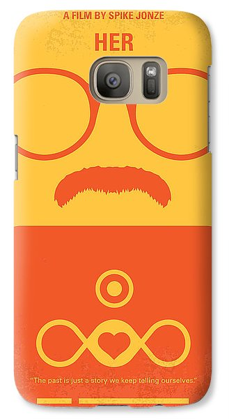 No372 My Her Minimal Movie Poster Galaxy S7 Case
