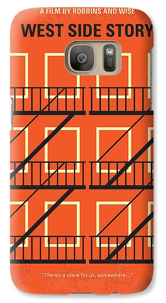 Jet Galaxy S7 Case - No387 My West Side Story Minimal Movie Poster by Chungkong Art