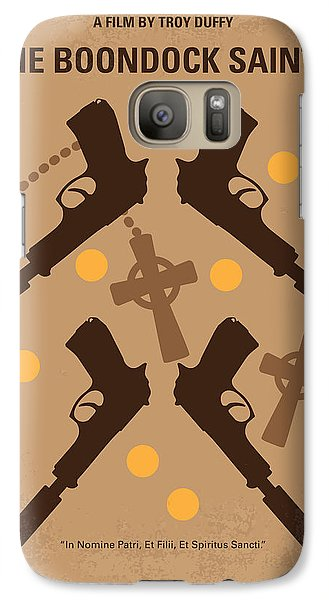 No419 My Boondock Saints Minimal Movie Poster Galaxy S7 Case