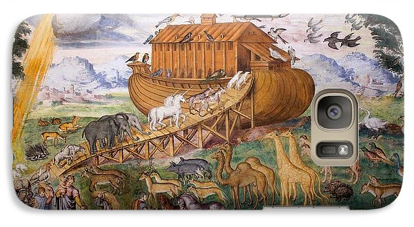 Galaxy Case featuring the photograph Noah's Ark - Two By Two by David Grant