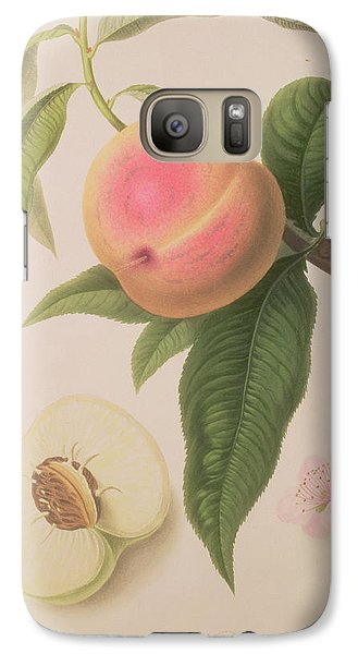 Noblesse Peach Galaxy S7 Case by William Hooker
