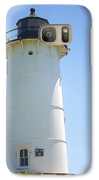 Galaxy Case featuring the photograph Nobska Point Lighthouse Ma by Suzanne Powers