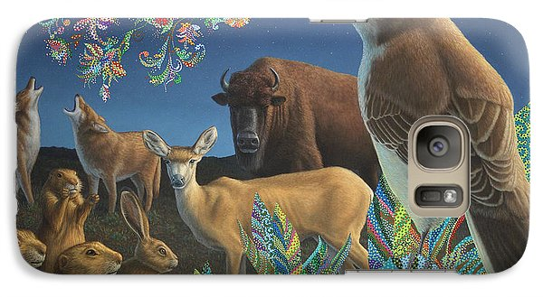 Buffalo Galaxy S7 Case - Nocturnal Cantata by James W Johnson