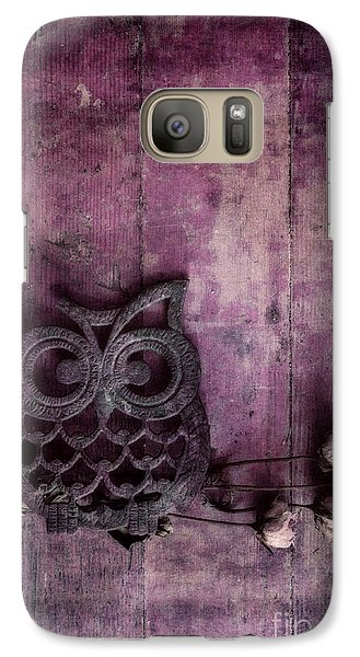 Nocturnal In Pink Galaxy S7 Case by Priska Wettstein