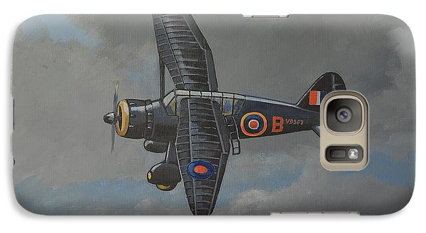 Galaxy Case featuring the painting Nocturnal Lysander by Murray McLeod