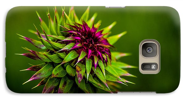 Galaxy Case featuring the photograph Nodding Spines by Rhys Arithson