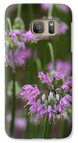 Galaxy Case featuring the photograph Nodding Wild Onion by Daniel Reed