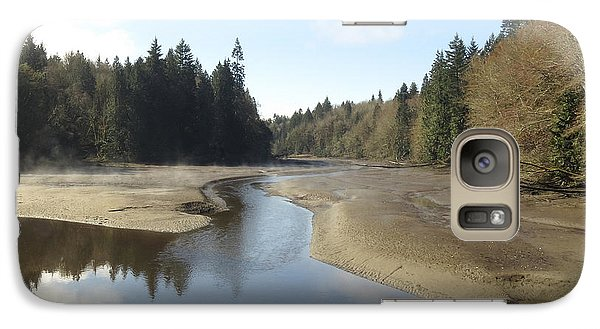 Galaxy Case featuring the photograph Noon At Woodard Bay Wa by I'ina Van Lawick