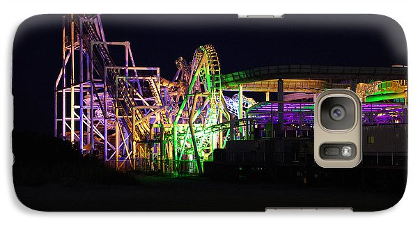 Galaxy Case featuring the photograph Nor'easter At Night by Greg Graham