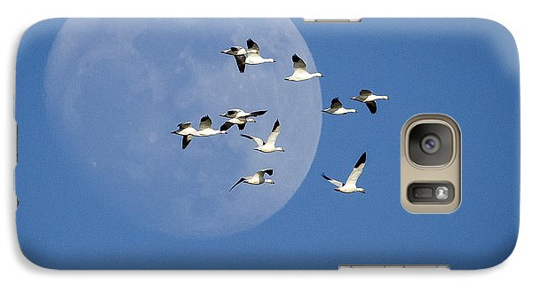 Galaxy Case featuring the photograph North Bound by Jack Bell