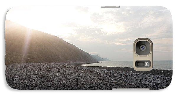 Galaxy Case featuring the photograph North Devon Coast by Jayne Wilson