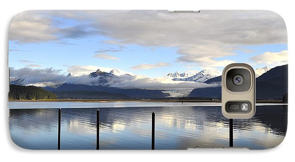 Galaxy Case featuring the photograph North Douglas Reflections by Cathy Mahnke