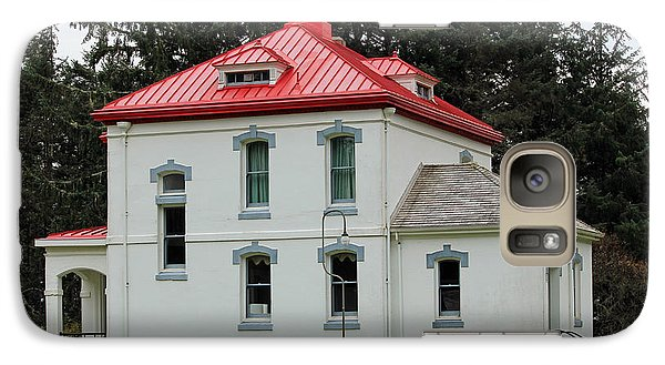 Galaxy Case featuring the photograph North Head Lighthouse Keepers Quarters by E Faithe Lester